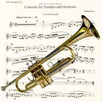 Trumpet Concerto Percussion for Third Movt