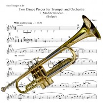 Two Dance Pieces for Trumpet Piano Reduction